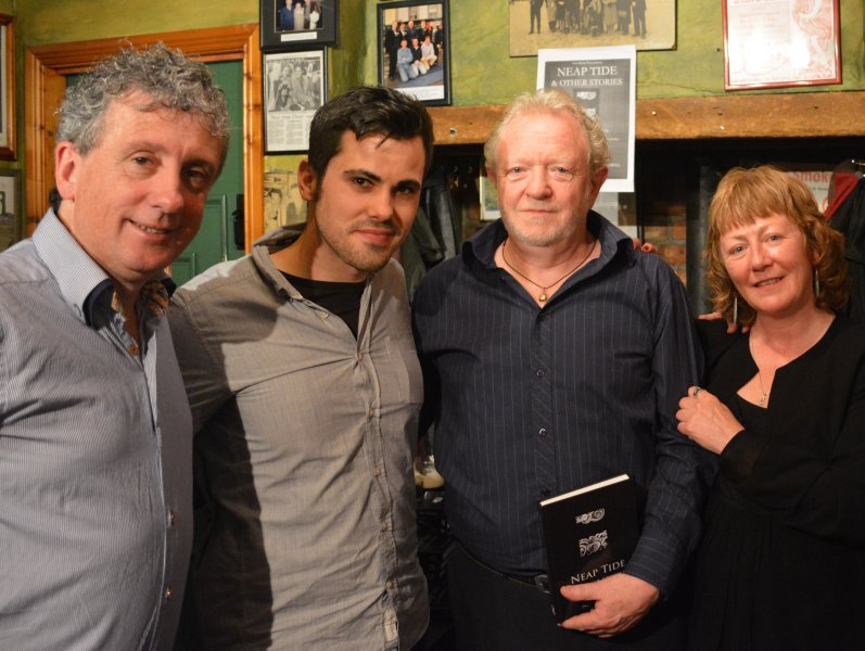 Billy Keane, James O'Sullivan, Neil Brosnan, and Gina Kelly