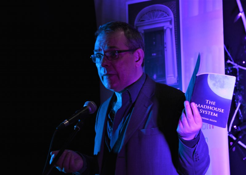 "Graham Allen reading at ""On the Nail"", February 7th, 2018"