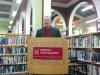Paul Casey reading at the launch of What News, Centurions?, December 2014