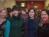 Danielle McLaughlin, Doireann Ní Ghríofa, Eimear Ryan, and E. R. Murray at the launch of Holes: Decade I and The Elysian: Creative Responses (2017)