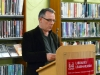 Graham Allen, author of Holes, reading at the launch of The New Binary Press Anthology of Poetry: Volume I