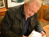 Neil Brosnan signing Neap Tide & Other Stories