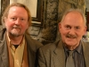 Noel King (Doghouse Books) alongside novelist and poet, Tommy Frank O'Connor