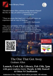 The One That Got Away Launch Poster